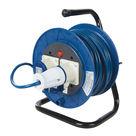 Acheter Enrouleur de câble électrique sur pied 16 A - 230 V au meilleur prix